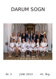 NR. 2, 41 ÅRGANG JUNI 2013 A5 16 sider - Darum