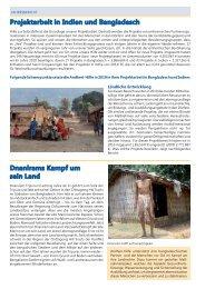 Projektarbeit in Indien und Bangladesch ... - Andheri-Hilfe Bonn