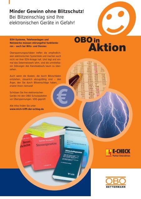 Bei Blitzeinschlag sind Ihre elektronischen Geräte in Gefahr!