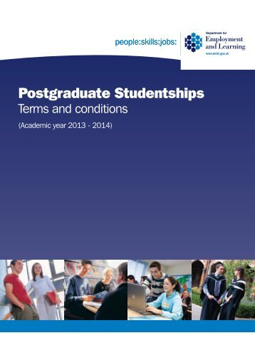 Postgraduate Studentships - Research - University of Ulster