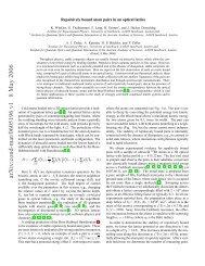 arXiv:cond-mat/0605196 v1 8 May 2006 - j-node