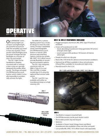 OPERATIVE - OpticsPlanet.com