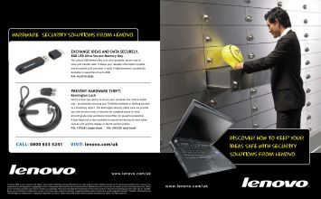 Hardware Security Solution from Lenovo