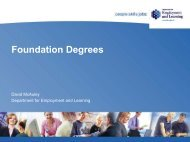 Foundation Degrees - University of Ulster