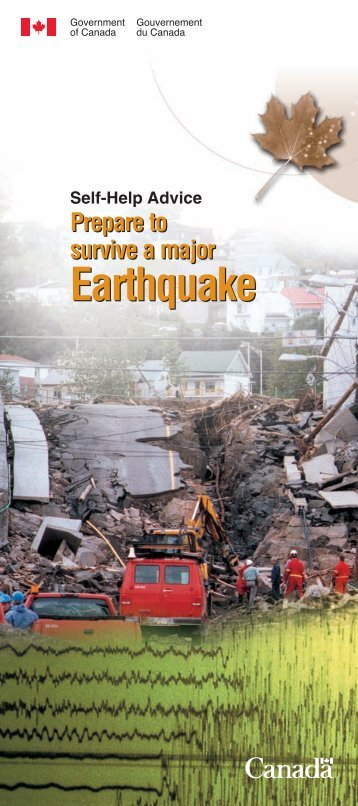 Prepare to survive a major earthquake