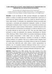 1 CLIMA URBANO EM JALES/SP - Observatorio Geográfico
