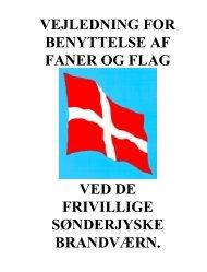 vejledning for benyttelse af faner og flag - Sønderjysk Frivillige ...