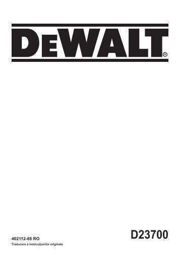 D23700 - Service - Dewalt