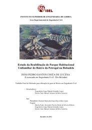Estudo da Reabilitação do Parque Habitacional Unifamiliar do ...