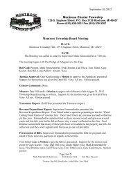 September 18, 2012 Meeting Minutes