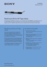 Rackmount Kit for AIT Tape drives - VB