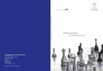 annual report of the Masterskill Education Group Berhad - ChartNexus