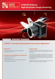 H-EM HR Airborne High Resolution Image ... - AOS Technologies AG