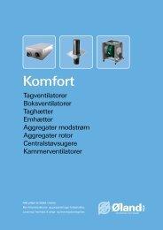 Komfort - Øland Online