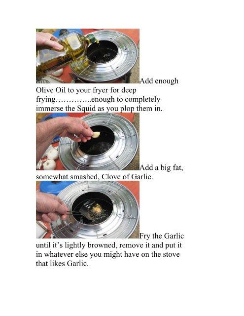 Juan's Calamares Fritos - The Geriatric Gourmet