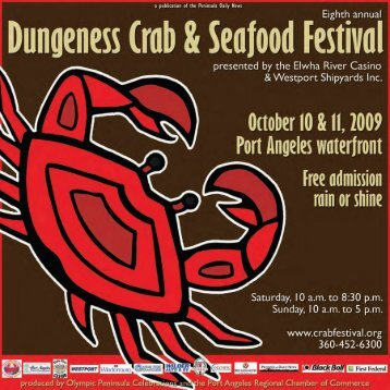 Peninsula Daily News Dungeness Crab & Seafood Festival October ...