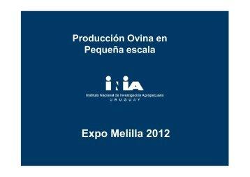 INIA – Producción Ovina en Pequeña escala