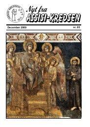 December 2009 nr. 65 Fra La Verna - Assisi-Kredsen