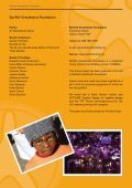 Annual Report 2008 - Starfish Greathearts Foundation - Page 2
