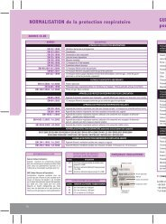 NORMALISATION de la protection respiratoire GUI ... - Eurosgos.com