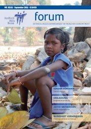 Kinder fördern bedeutet Zukunft schenken - Andheri-Hilfe Bonn