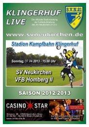 Stadionheft Nr.10 - SV Neukirchen