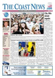 The Coast News, June 22, 2012