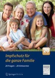 Impfschutz für die ganze Familie