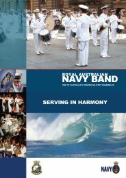NAVY BAND - Royal Australian Navy