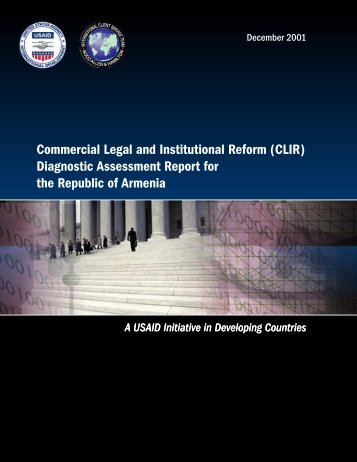Diagnostic Assessment Report for the Republic ... - Economic Growth