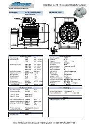 DB - ACM 160 MA-4 -HE - Stoewer-Getriebe.de