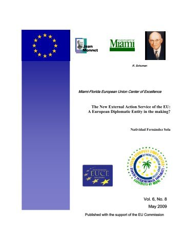 The New External Action Service of the EU - Archive of European ...
