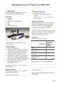 Dataopsamling med PasPort USB link - Frederiksen - Page 6