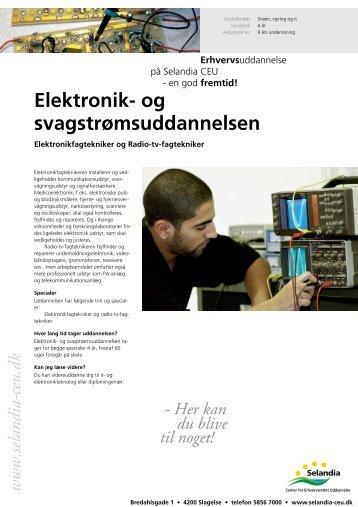 Elektronik- og svagstrømsuddannelsen - Selandia CEU