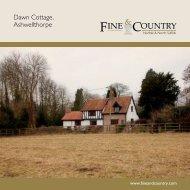 Dawn Cottage, Ashwellthorpe - Fine & Country