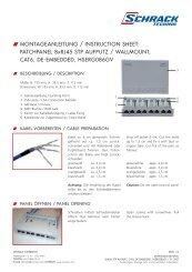 Montageanleitungen - Schrack
