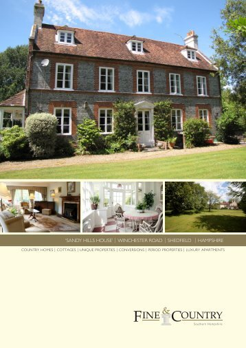 Winchester road | shedfield | hampshire - Fine & Country