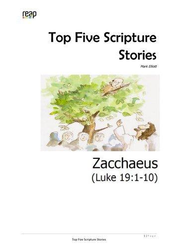 CU4 Zacchaeus