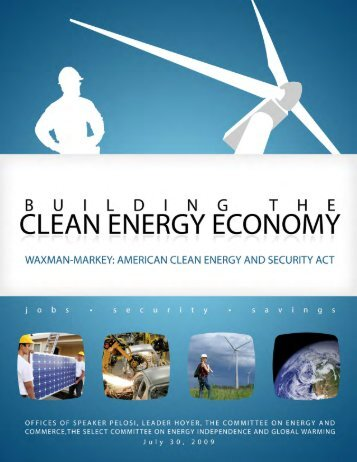 American Clean Energy and Security Act - The Select Committee for ...