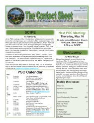 May 2013 - Photographic Society of Chattanooga