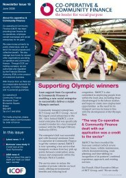 to download Issue 18 - Co-operative and Community Finance
