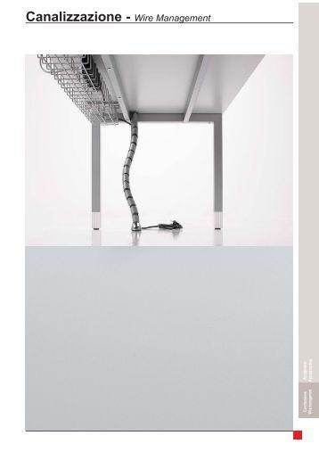 Canalizzazione - Wire Management - Cube Office