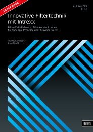 In nov ativ e F ilte rte ch n ik m it In tre xx Innovative Filtertechnik mit ...