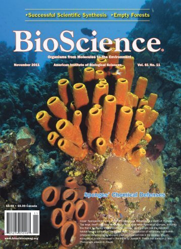 The Chemical Ecology of Sponges on Caribbean Reefs: Natural ...