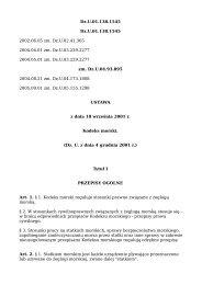 Kodeks morski - Inwestycje www.inwestycje.pl