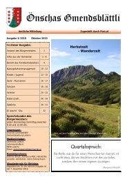 Ausgabe 03/2010 - Gemeinde Laterns