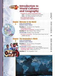 Introduction to World Cultures and Geography - Nexuslearning.net
