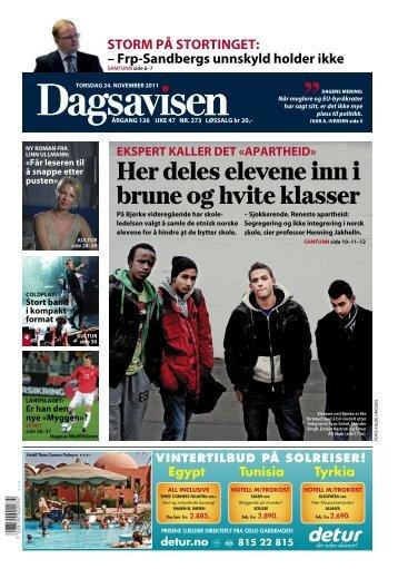Dagsavisen, 24. desember 2011 - Linn Ullmann