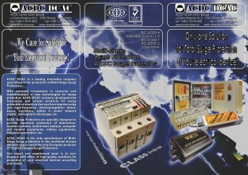 About ACDC Surge Protectors