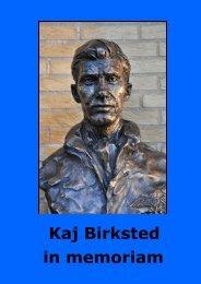 Kaj Birksted in memoriam - Flyvevåbnets Historiske Samling
